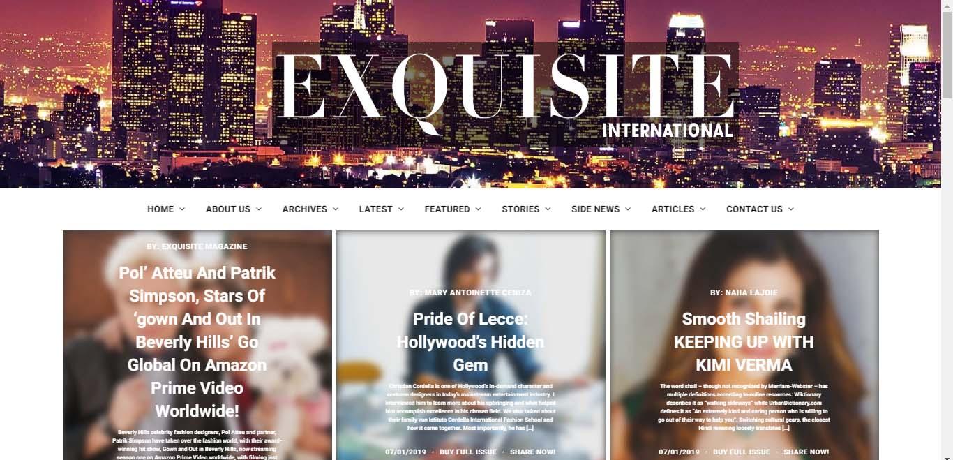 Exquisite International