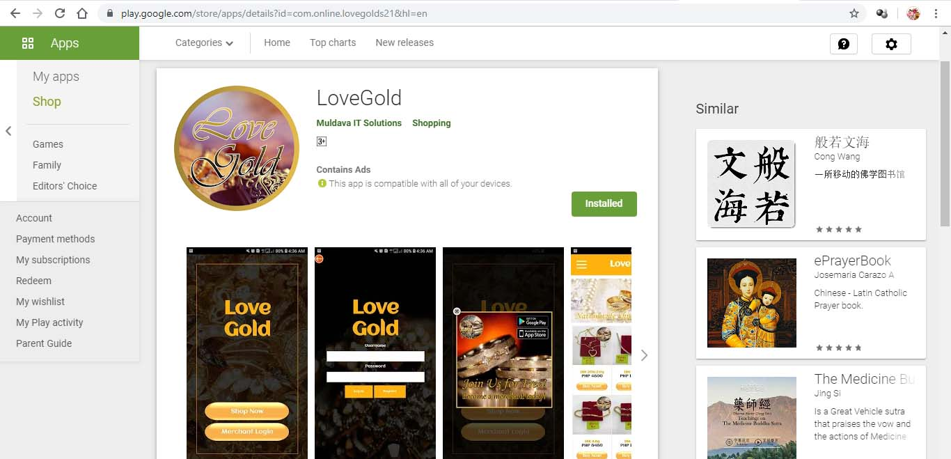 LoveGold App